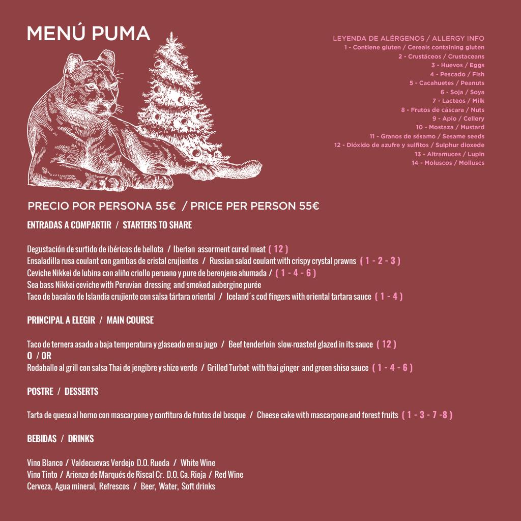 Cenas y Comidas de Empresa Navidad